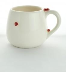 Tasse boule fleurs de cerisier - Céramique Moineaux & Co