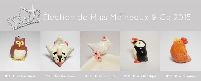Élection de Miss Moineaux & Co 2015
