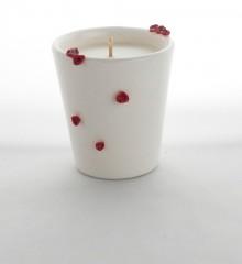 Bougie fleurs de cerisier - à la cire végétale de soja