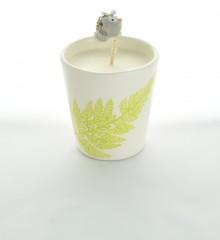 bougie hérisson cire de soja céramique moineaux & co quimper