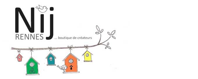 Une chouette boutique de créateurs : Nij à Rennes, par ici la visite !