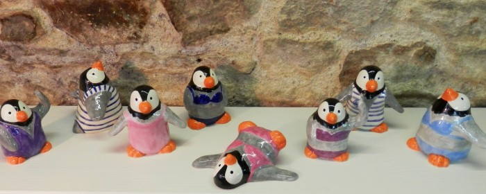 Les pingouins défilent pour l'association Moden'Roz