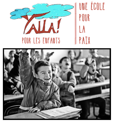 yalla pour les enfants, une école pour la paix