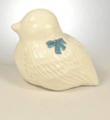 tirelire oiseau noeud papillon ruban bleu cadeau de naissance garçon moineauxandco faïence made in quimmper france4