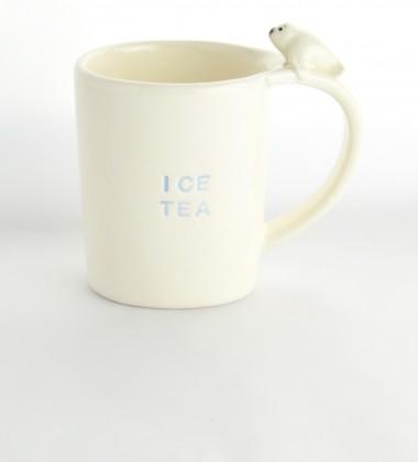 tasse phoque 3d relief anse originale ice tea céramique moineaux & co