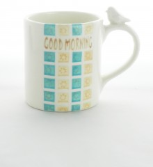 "Mug moineau ""Good morning"""