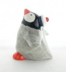 Statuette pingouin moussaillon