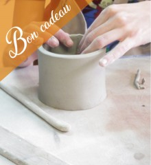 Bon cadeau - Stage de céramique adulte chez Moineaux & Co à Quimper