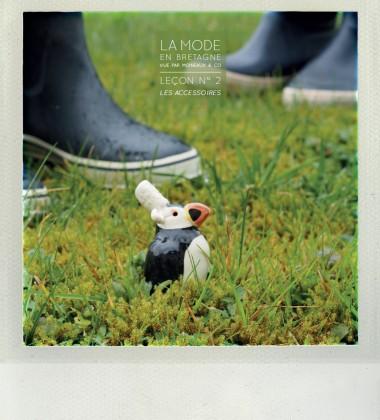 carte postale macareux moine la mode en bretagne leçon n2 les accessoires moineauxandco