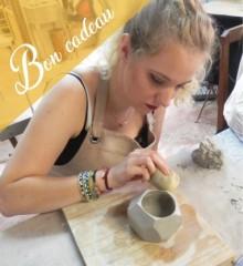 Bon cadeau stage de céramique adulte à Quimper